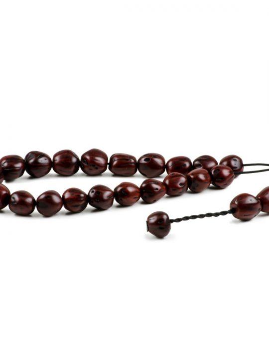 Cherry Nutmeg Seeds Greek Worry Beads Komboloi