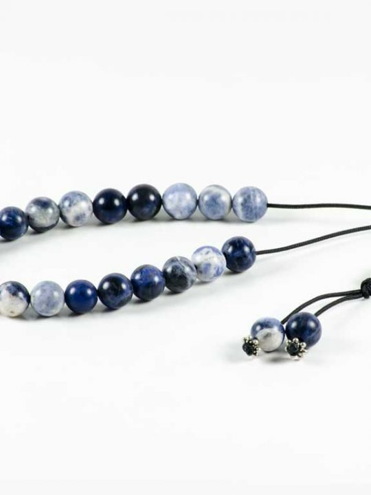 Blue Sodalite Gemstone Greek Worry Beads Komboloi