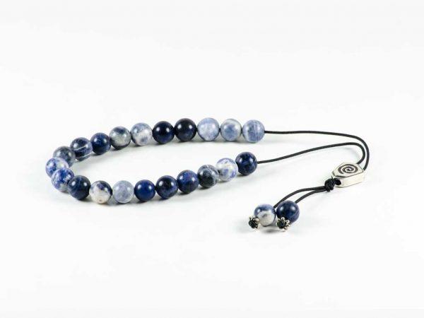 Blue Sodalite Gemstone Greek Worry Beads Komboloi