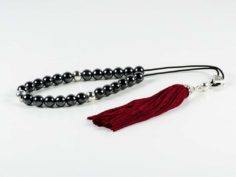 Hematite Gemstone Greek Komboloi Worry Beads