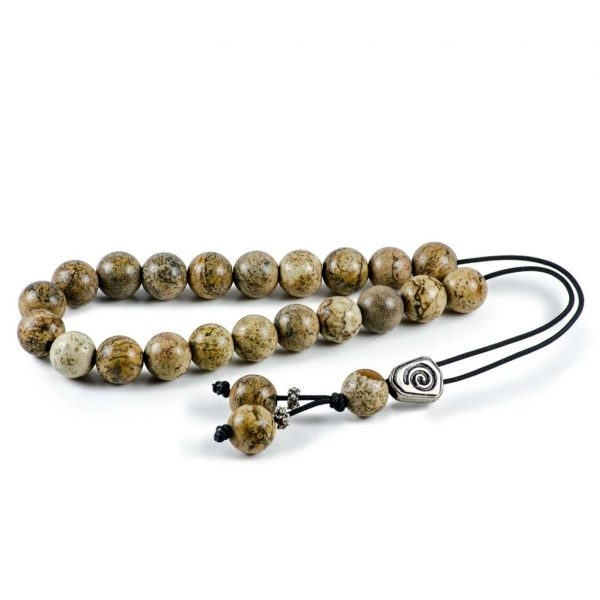 Yellow Jasper Gemstone Greek Worry Beads Komboloi