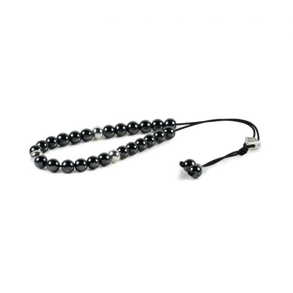 Hematite Gemstone Worry Beads Greek Komboloi