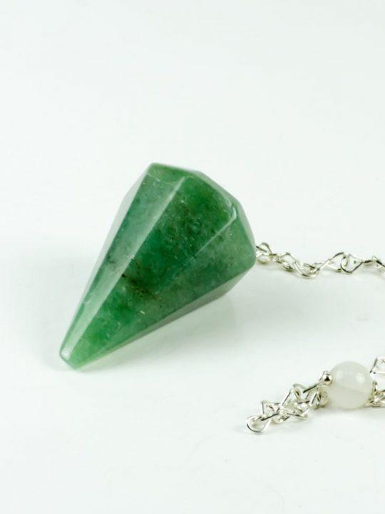 Green Aventurine Gemstone Pendulum