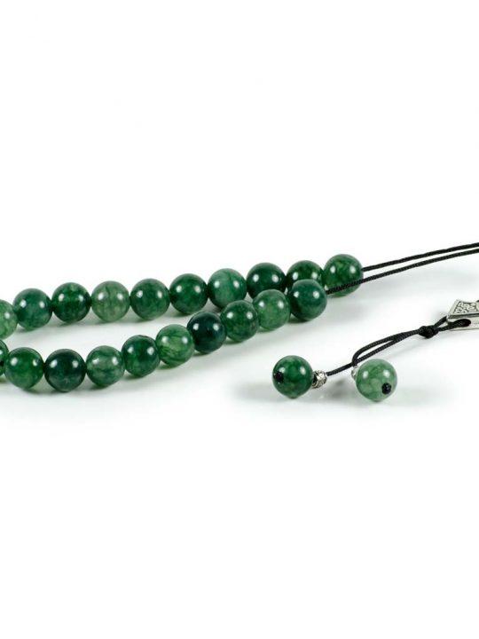 Green Aventurine Gemstone Greek Worry Beads
