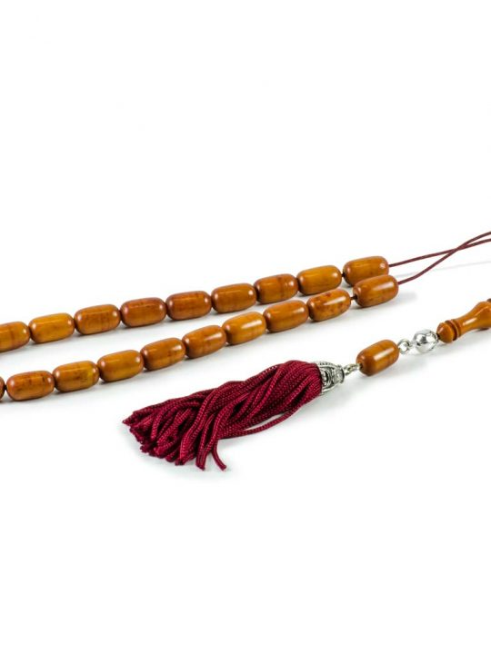 High Quality Caramel Camel Bone Greek Komboloi Worry Beads
