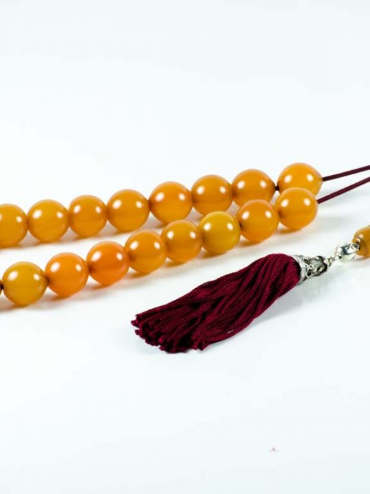 Vintage Orange Sudurus Worry Beads Greek Komboloi