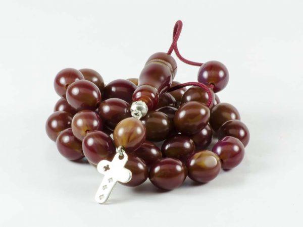 Vintage Brown Mastic Sudurus Tasbih Worry Beads