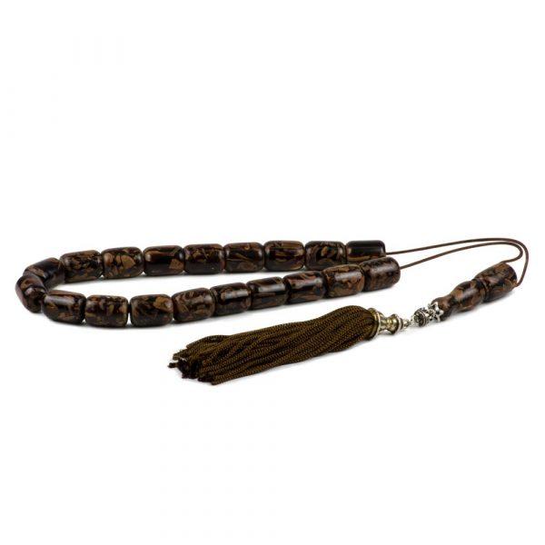 Natural Cinnamon Wood Greek Komboloi Prayer Worry Beads