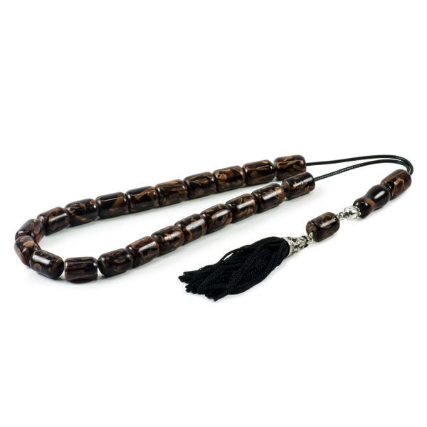 Natural Cinnamon Wood Greek Komboloi Prayer Worry Beads