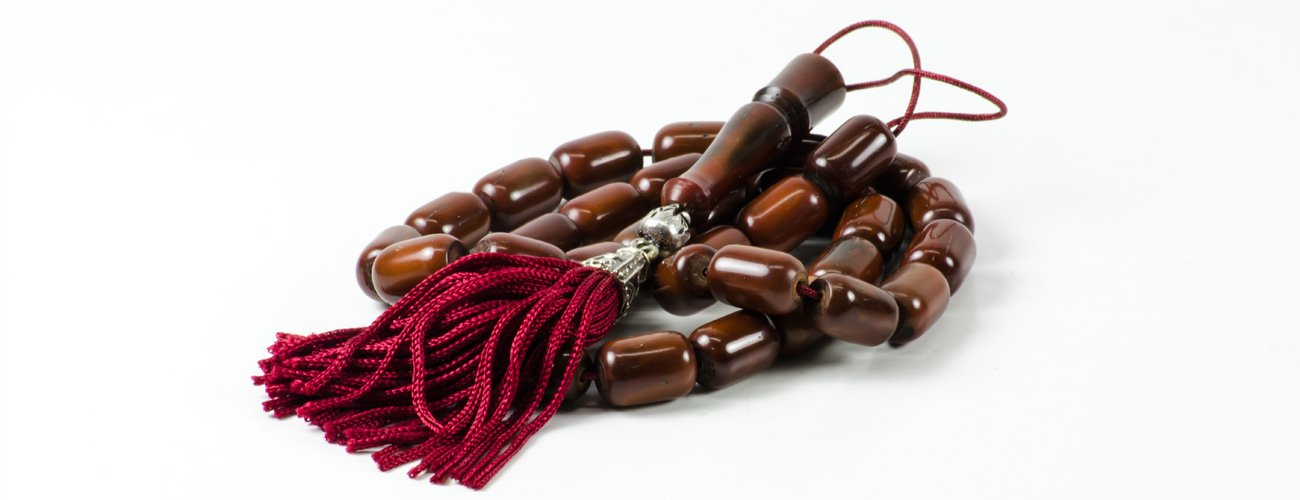 Coconut Wood Tasbih Prayer Worry Beads