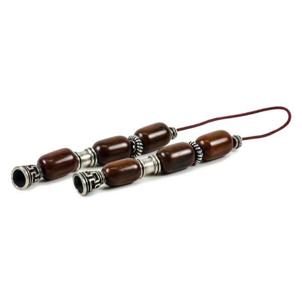 Coconut Wood Greek Worry Beads Begleri Meander