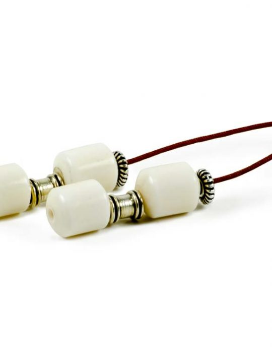 White Hand Camel Bone Greek Worry Beads Begleri