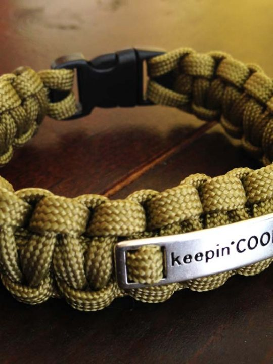 Paracord Survival Men's Bracelet