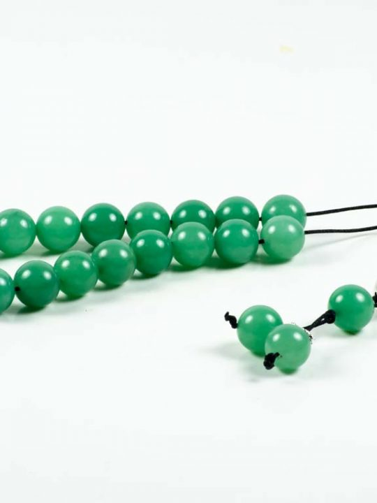 Green Aventurine Gemstone Greek Komboloi Worry Beads