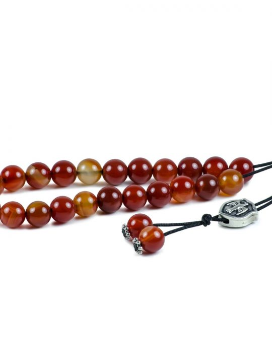 Agate Gemstone Worry Beads Greek Komboloi Aquila Roman