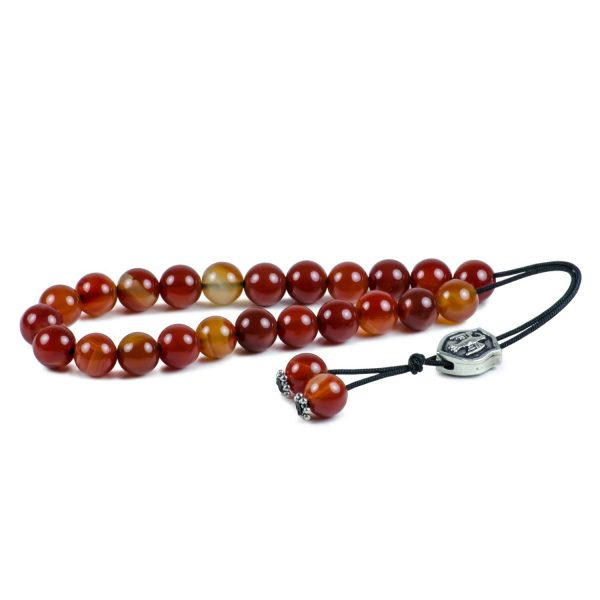 Agate Gemstone Worry Beads Greek Komboloi Aquila Roman