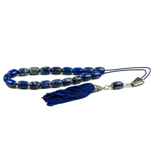 Lapis Lazuli Gemstone Greek Komboloi Worry Beads