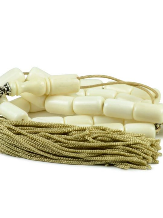 White Camel Bone Greek Komboloi Worry Beads Tesbih Tasbih