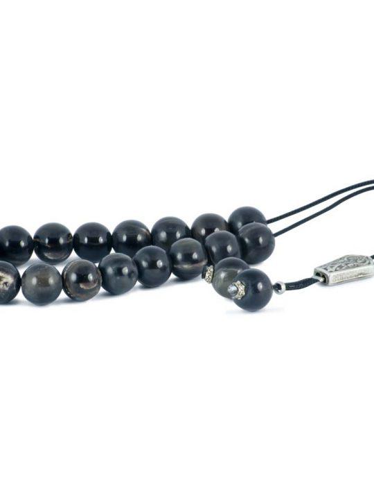 Bull Horn Bone Greek Komboloi Worry Beads